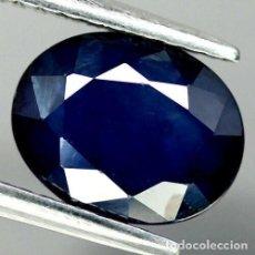 Coleccionismo de gemas: ZAFIRO AZUL 9,0 X 7,0 MM.. Lote 218503323