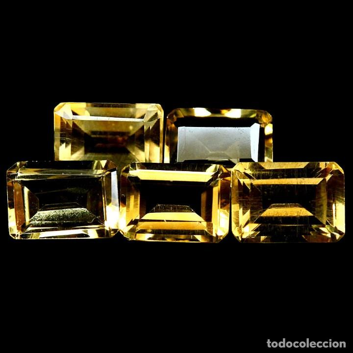 Coleccionismo de gemas: Citrino Natural 7 x 5 mm. - Foto 2 - 219293570