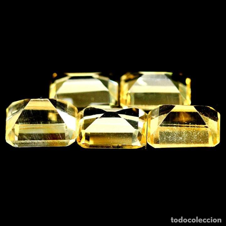 Coleccionismo de gemas: Citrino Natural 7 x 5 mm. - Foto 3 - 219293570