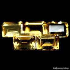 Coleccionismo de gemas: CITRINO NATURAL 7 X 5 MM.. Lote 219293570