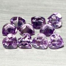 Collezionismo di gemme: AMATISTA CORAZON 5 X 5 MM.. Lote 246481185