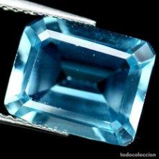 Coleccionismo de gemas: TOPAZIO 11.1 X 9.0 MM.. Lote 219299478