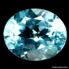 Coleccionismo de gemas: TOPACIO OVAL 12,2 X 10.1 MM.. Lote 219304227