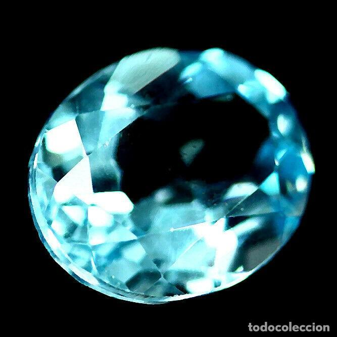 Coleccionismo de gemas: TOPAZIO Oval 11.2 x 10.0 mm. - Foto 2 - 219305887