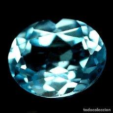 Coleccionismo de gemas: TOPAZIO OVAL 11.2 X 10.0 MM.. Lote 219305887