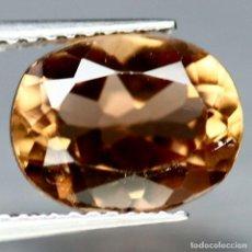 Coleccionismo de gemas: TOPACIO CHAMPAN 10.2 X 8.1 MM. Lote 219307763