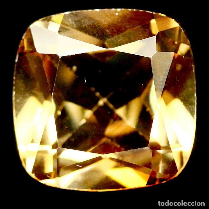Coleccionismo de gemas: Topacio Champan 10 x 10 mm - Foto 2 - 263752100