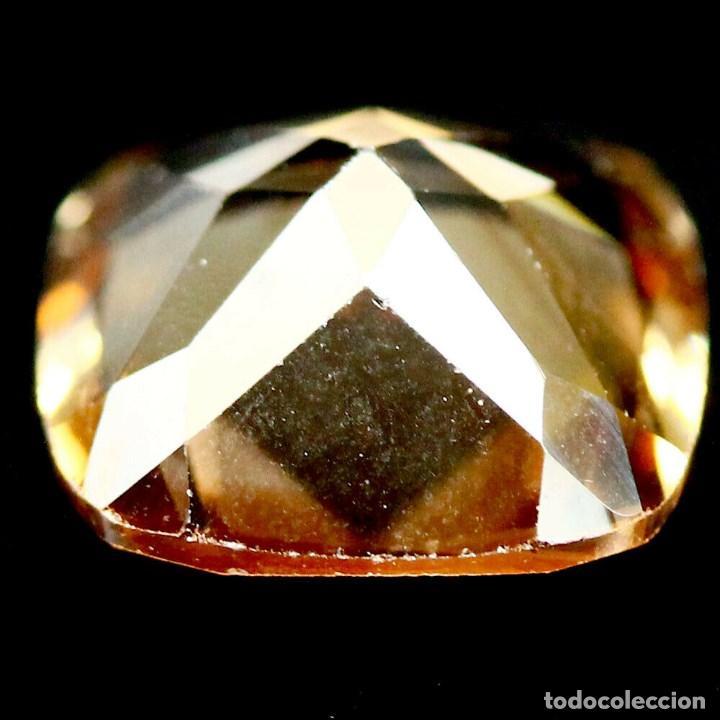 Coleccionismo de gemas: Topacio Champan 10 x 10 mm - Foto 3 - 263752100