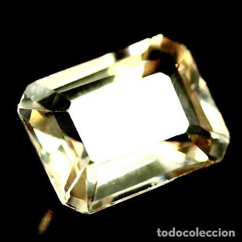Coleccionismo de gemas: Topacio Champan 8.1 x 6.1 mm - Foto 2 - 219505157
