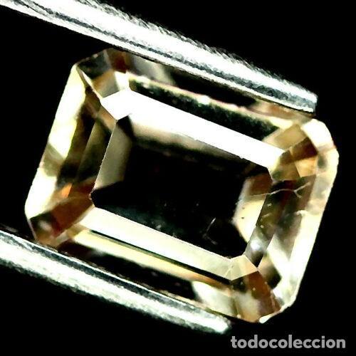 TOPACIO CHAMPAN 8.1 X 6.1 MM (Coleccionismo - Mineralogía - Gemas)