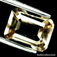 Coleccionismo de gemas: TOPACIO CHAMPAN 8.1 X 6.1 MM. Lote 219505157