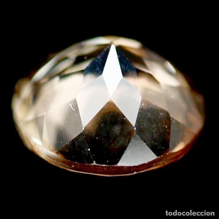 Coleccionismo de gemas: Topacio Champan Redondo 9 mm - Foto 3 - 219505768