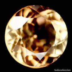 Coleccionismo de gemas: TOPACIO CHAMPAN REDONDO 9 MM. Lote 219505768