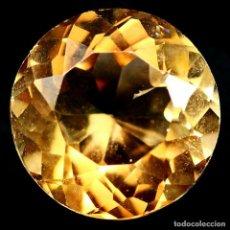 Coleccionismo de gemas: TOPACIO CHAMPAN RDONDO 10 MM. Lote 233416415