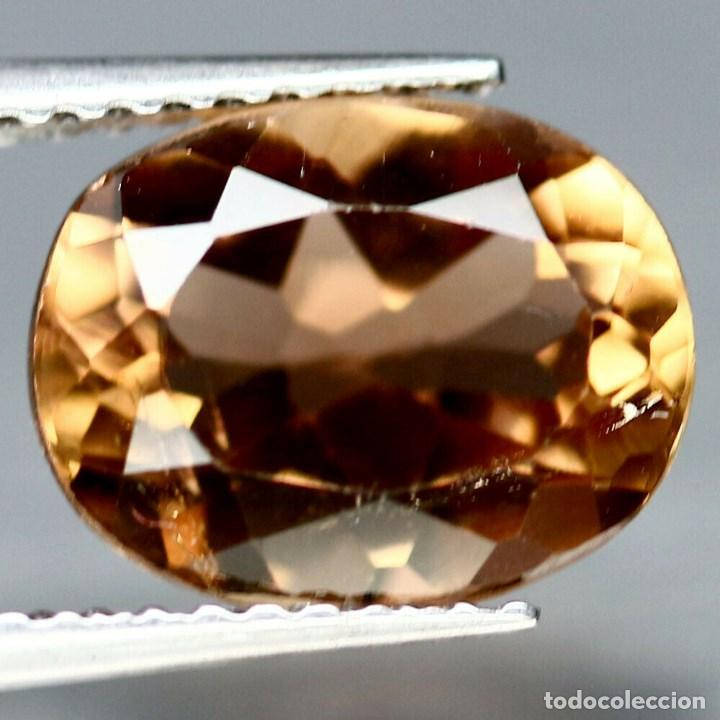 Coleccionismo de gemas: Topacio Champan Oval 14.0 x 10.1 mm - Foto 2 - 219506708
