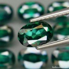 Collezionismo di gemme: TOPAZIO VERDE 7.0 X 5.0 MM.. Lote 219512307
