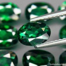 Coleccionismo de gemas: TOPAZIO VERDE 8.0 X 6.0 MM.. Lote 219513066
