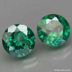 Collectionnisme de gemmes: TOPAZIO VERDE REDONDO 8.0 MM.. Lote 219513880