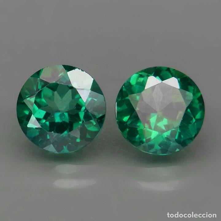 Coleccionismo de gemas: TOPAZIO VERDE REDONDO 9.0 mm. - Foto 2 - 219514712