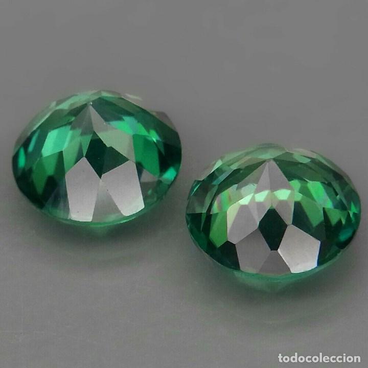 Coleccionismo de gemas: TOPAZIO VERDE REDONDO 9.0 mm. - Foto 3 - 219514712