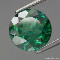 Coleccionismo de gemas: TOPAZIO VERDE REDONDO 9.0 MM.. Lote 219514712