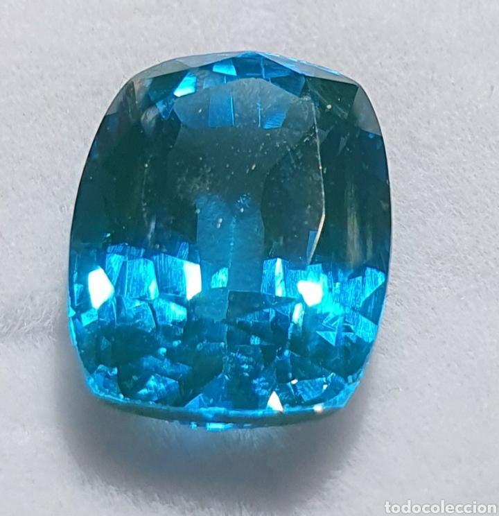 EXCEPCIONAL TURMALINA NATURAL DE 7.87 QUILATES VALORADO EN MÁS DE 600 EUROS (Coleccionismo - Mineralogía - Gemas)