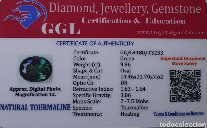 Coleccionismo de gemas: Excepcional Turmalina natural de 9.96 Quilates valorado en más de 450 euros - Foto 5 - 219686308