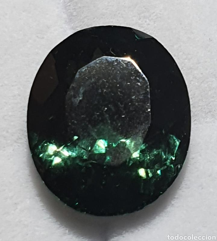 EXCEPCIONAL TURMALINA NATURAL DE 9.96 QUILATES VALORADO EN MÁS DE 450 EUROS (Coleccionismo - Mineralogía - Gemas)