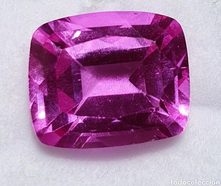 Coleccionismo de gemas: Excepcional Enorme Ruby Rosado purpura natural de 13.35 Quilates valorado en más de 1400 euros. - Foto 2 - 219686405