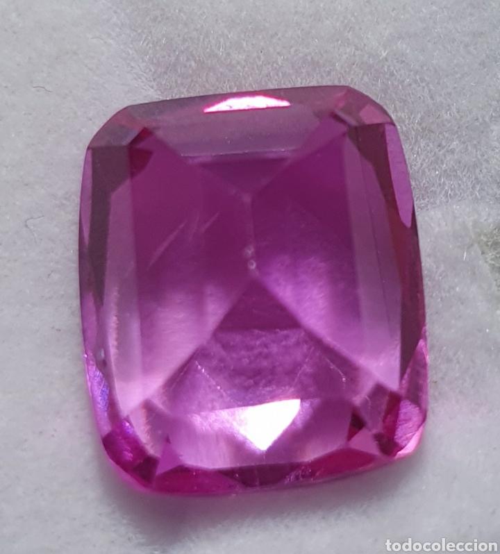 Coleccionismo de gemas: Excepcional Enorme Ruby Rosado purpura natural de 13.35 Quilates valorado en más de 1400 euros. - Foto 4 - 219686405