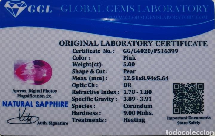 Coleccionismo de gemas: Excepcional Zafiro natural de 5 Quilates valorado en más de 500 euros - Foto 6 - 219686596