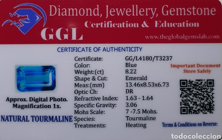 Coleccionismo de gemas: Excepcional Turmalina natural de 8.22 Quilates valorado en más de 650 euros - Foto 5 - 219687600