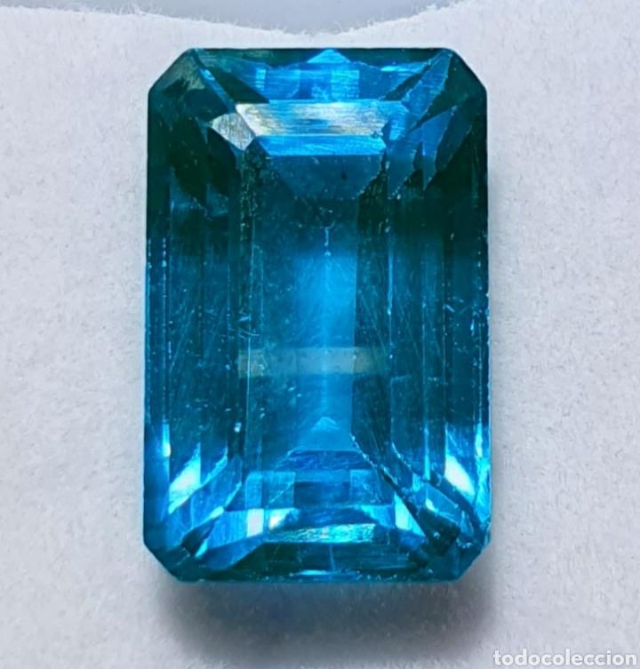 EXCEPCIONAL TURMALINA NATURAL DE 8.22 QUILATES VALORADO EN MÁS DE 650 EUROS (Coleccionismo - Mineralogía - Gemas)
