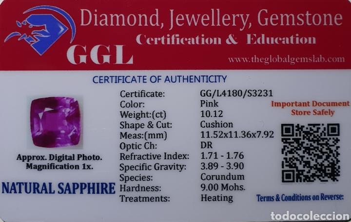 Coleccionismo de gemas: Excepcional Zafiro natural de 10.12 Quilates valorado en más de 700 euros. - Foto 6 - 219687757