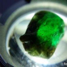 Coleccionismo de gemas: BONITA ESMERALDA DE MINA EN BRUTO DE COLOMBIA CON 5.55 CT.. Lote 236255720
