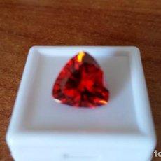Coleccionismo de gemas: INIGUALABLE RUBÍ SEIKO NATURAL DE RUSIA TALLA TRILLÓN CON 10.86 CT. Lote 221138396