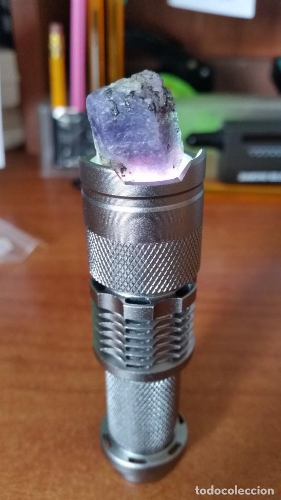 Coleccionismo de gemas: Rubí Bicolor Violeta-Rosáceo. Natural. En Bruto. De Madagascar con 57.57 Ct. - Foto 3 - 222037022