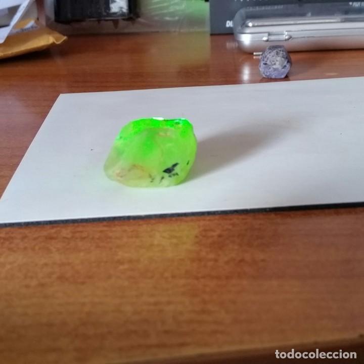 Coleccionismo de gemas: Magnífica Prehnita Verde Agua. Natural en Bruto de Madagascar con 105.43 Ct. - Foto 6 - 222041180
