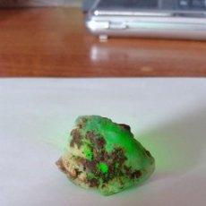 Coleccionismo de gemas: CRISOPRASA EN BRUTO NATURAL DE MADAGASCAR CON 71.13 CT.. Lote 222117952