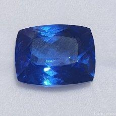 Collectionnisme de gemmes: EXCEPCIONAL TANZANITA NATURAL DE 9.02 QUILATES VALORADO EN MÁS DE 650 EUROS. Lote 222842522