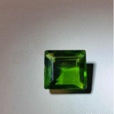 Coleccionismo de gemas: BONITO PERIDOTO FLUX VERDE DE BRASIL CON TALLA CUADRADA Y 14 CT.. Lote 224259418