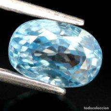 Coleccionismo de gemas: CIRCON NATURAL 8,5 X 6,0 MM.. Lote 224516010