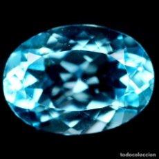 Coleccionismo de gemas: TOPACIO 14.0 X 10.0 MM.. Lote 224620380
