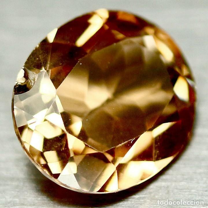 Coleccionismo de gemas: Topacio Champang 12 x 10 mm - Foto 2 - 224621403