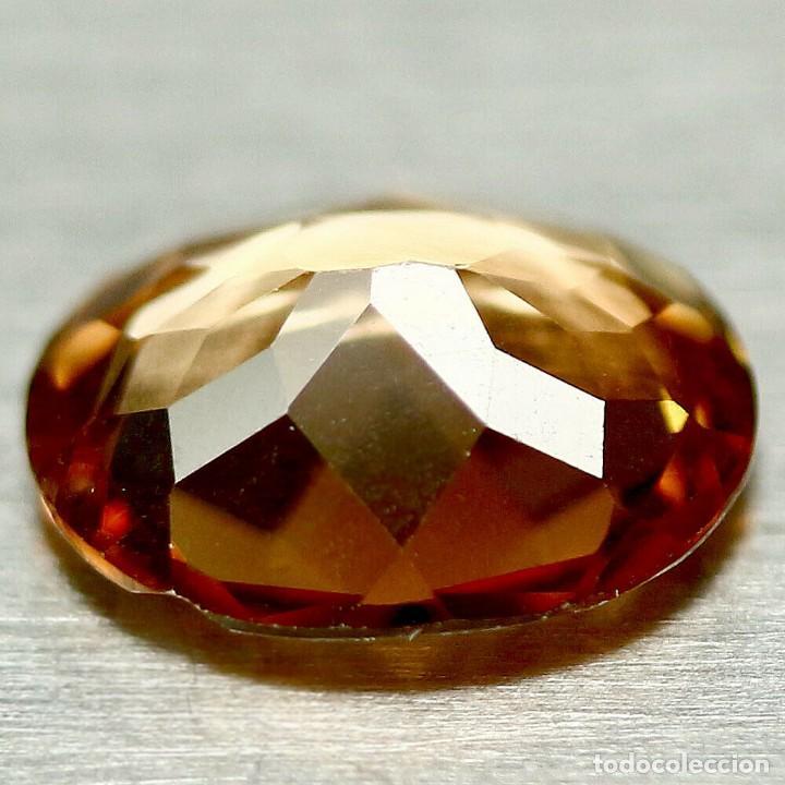 Coleccionismo de gemas: Topacio Champang 12 x 10 mm - Foto 3 - 224621403