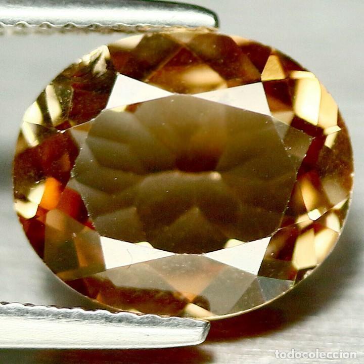 TOPACIO CHAMPANG 12 X 10 MM (Coleccionismo - Mineralogía - Gemas)