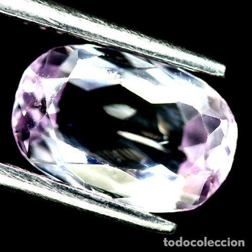 KUNZITA OVAL 10.5 X 7,0 MM. (Coleccionismo - Mineralogía - Gemas)