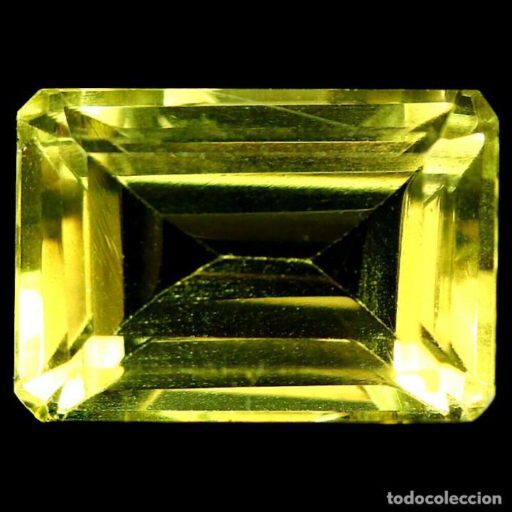 Coleccionismo de gemas: Cuarzo Amarillo Limon 15,5 x 10,5 mm. - Foto 2 - 225280775