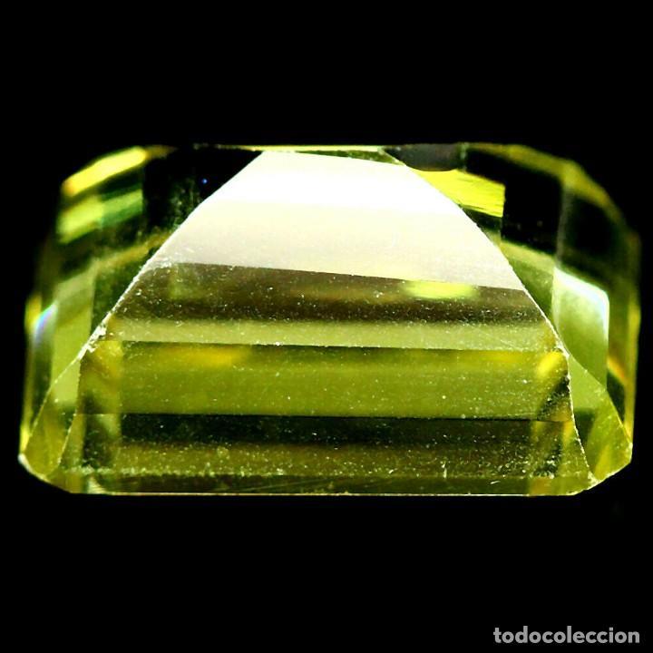 Coleccionismo de gemas: Cuarzo Amarillo Limon 15,5 x 10,5 mm. - Foto 3 - 225280775