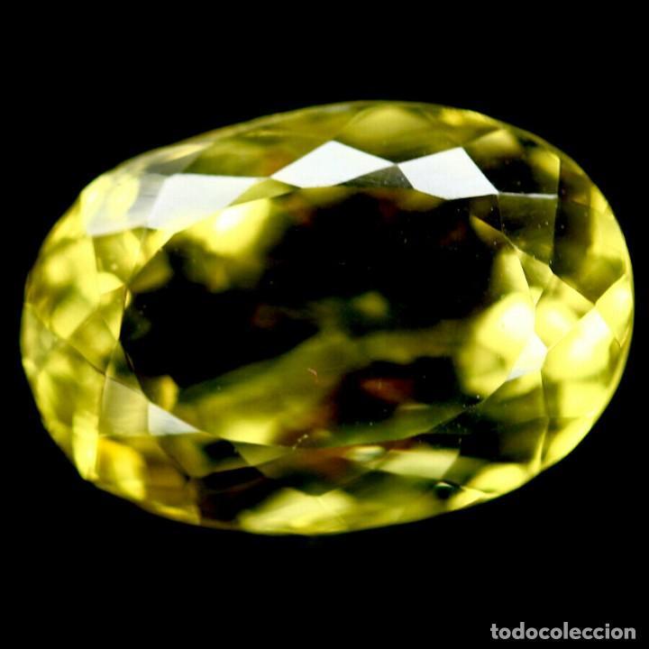 Coleccionismo de gemas: Cuarzo Amarillo Limon 16,0 x 11,0 mm. - Foto 2 - 225282145